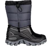 Winter-Grip Snowboot Winter-Grip Junior Welly Walker Zwart Grijs-Schoenmaat 24 - 25