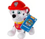 Nickelodeon knuffel Paw Patrol Marshall junior 20 cm pluche rood