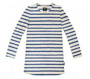 Snurk Long Sleeve Dress SNURK Kids Breton Blue-Maat 104