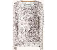 Essenza Ginni Doutzen lounge sweater met slangenprint