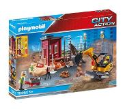 Playmobil City Action Mini Graafmachine Met Bouwonderdeel 70443