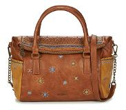 Desigual Handtas Kort Hengsel Desigual Lululove Loverty Dames Brown | Maat: One size