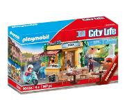 Playmobil 70336 City Life Pizzeria met terras