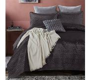 Dreamhouse Bedding Bedsprei - Satin Orlando - Antraciet 180 x 250 + 1