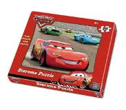 King international Diorama Puzzel Cars