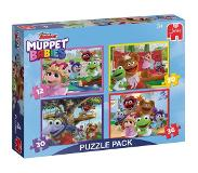 Jumbo Legpuzzel Muppet Babies 4in1 Puzzle Pack