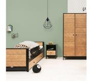 Bopita Kinderkamer Job Vintage Honey Bed + Kast