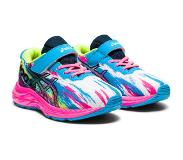 Asics Pre Noosa Tri 13 PS Shoes Kids, digital aqua/hot pink 2021 US 3,5 | EU 35,5 Triathlon schoenen