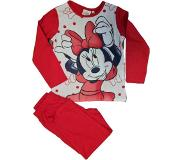 Disney Minnie Mouse pyjama rood maat 92/98