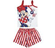 Disney - Minnie Mouse - Baby Shortama - Wit