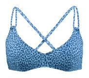 Barts Bh Bathers Cross Back - Blauw - Maten: 36, 38, 40, 42