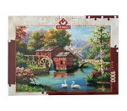 Art puzzle Puzzel The Old Red Mill - 1000 stukjes