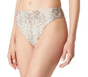 Seafolly Serpentine high waisted bikinislip met print