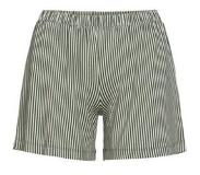 Essenza Trousers Essenza Natalie Striped Short Laurel Green-M
