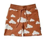 Snurk Shorts SNURK Kids Cloud 9 Rusty Brown-Maat 104