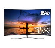 "Samsung UE49MU9000 49"" 4K Ultra HD Smart TV Wi-Fi Zwart, Zilver LED TV"