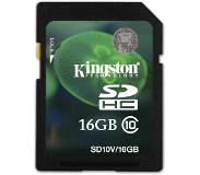 Kingston Technology 16GB SDHC UHS-I Card 16GB SDHC UHS Klasse 10 flashgeheugen