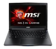 "MSI Gaming GS30 2M(Shadow)-019BE 2.5GHz i7-4870HQ 13.3"" 1920 x 1080Pixels Zwart Notebook"