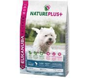 Eukanuba 14 kg Eukanuba NaturePlus+ Adult Small Dog Zalm Hondenvoer