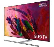 "Samsung Q7F QE75Q7FNALXXN LED TV 190,5 cm (75"") 4K Ultra HD Smart TV Wi-Fi Zwart, Zilver"