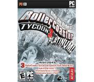 Games Atari - Roller Coaster Tycoon 3: Platinum PC video-game