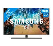 "Samsung UE82NU8000T 82"" 4K Ultra HD Smart TV Wi-Fi Zwart, Zilver LED TV"