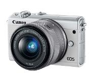 Canon EOS M100 wit + 15-45mm IS STM + 55-200mm IS STM
