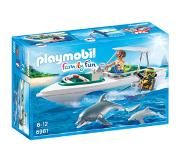 Playmobil Family Fun duiktrip met plezierboot 6981