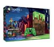 Microsoft Xbox One S Minecraft Limited Edition Bundle 1TB 1000GB Wi-Fi Wit