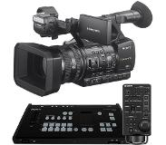 Sony MCX-500 M/E Switcher + RM-30BP LANC Controller + 2x HXR-NX5R Camcorder