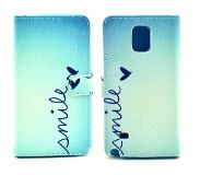 Carryme Smile booktype hoes Samsung Galaxy Note 4