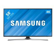 "Samsung UE58MU6120 58"" 4K Ultra HD Smart TV Wi-Fi Zwart LED TV"