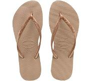 Havaianas SLIPPERS SLIM ROSE GOLD (Roze, Goud, 35-36)