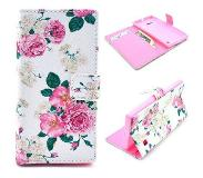 Carryme Bloemen booktype hoes Nokia Lumia 730 / 735
