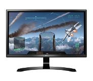 "LG 24UD58-B 23.8"" 4K Ultra HD IPS Mat Zwart Flat computer monitor LED display"