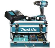 Makita DHP453RFX2 Boormachine met pistoolgreep 3Ah 1700g accu boor-schroef machine