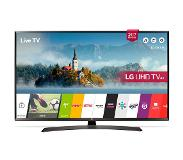 "LG 43UJ634V 43"" 4K Ultra HD Smart TV Wi-Fi Zwart LED TV"