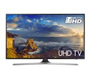 "Samsung UE49MU6100W 49"" 4K Ultra HD Smart TV Wi-Fi Zwart, Zilver LED TV"
