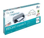 I.R.I.S. IRISCard Corporate 5 Business Card scanner 300 x 300DPI Zwart, Grijs