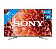 "Sony KD-75XF9005 75"" 4K Ultra HD Smart TV Wi-Fi Zwart LED TV"