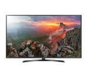 "LG 50UK6470 50"" 4K Ultra HD Smart TV Wi-Fi Zwart, Grijs LED TV"