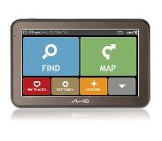 "Mio Spirit 7670 LM Handheld/Fixed 5"" Touchscreen 158g Olijf navigator"