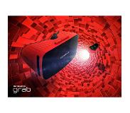 Homido Grab Smartphonegebaseerd headmounted display 240g Zwart, Rood