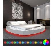 VidaXL Bed met matras en LED-verlichting 180x200 cm ...