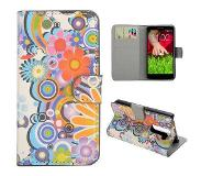 Carryme Powerflower bookcase hoesje LG G2 Mini