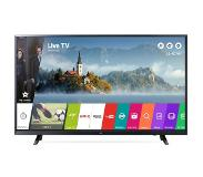 LG 43UJ620V 43'' 4K Ultra HD Smart TV Wi-Fi Zwart LED TV
