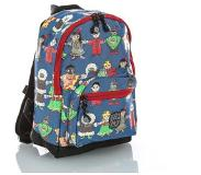Pick & Pack Cute Peace Backpack S blue multi
