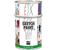Magpaint SketchPaint / whiteboard verf wit glans - 500 ml