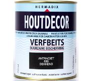 Hermadix houtdecor dekkend alkyd 750ml antraciet