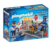 Playmobil City Action politiewegversperring 6924